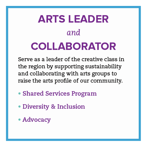 Arts Leader and Collaborator